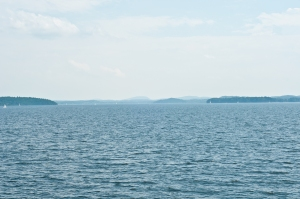 NY in the distance