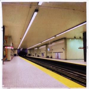 Sherbrooke Metro Stop