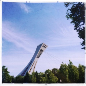 The Olympic Stadium from the Botanical Garden