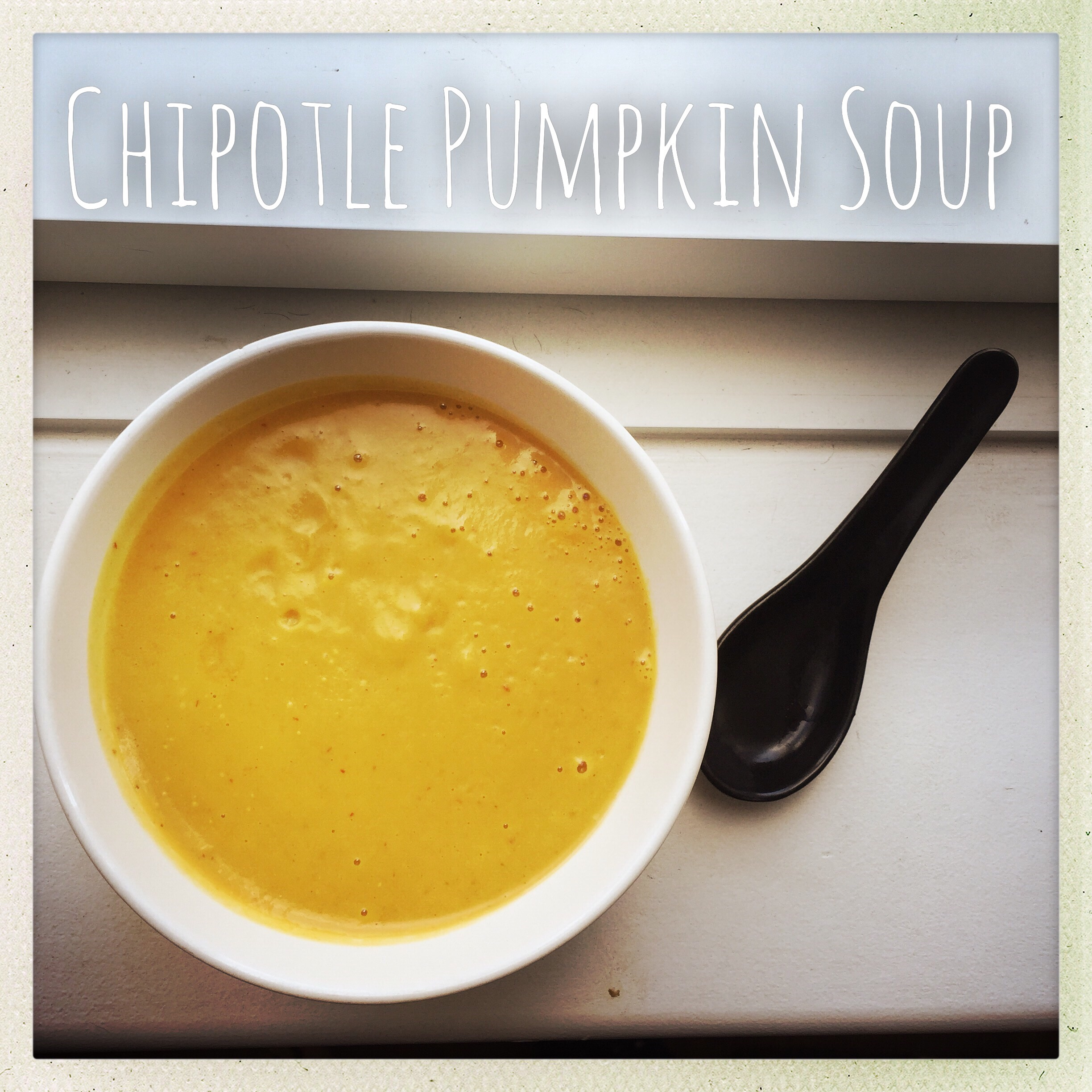Chipotle Pumpkin Soup | Gastography