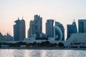 Downtown Doha skyline