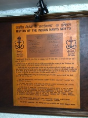 Indian Navy Motto
