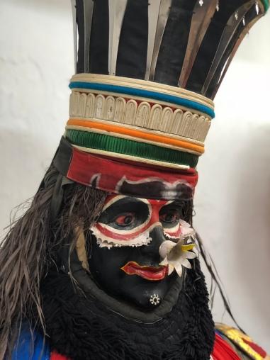 Kathakai dancers - the demon character