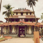 A hindu temple we unfortunately could not go in