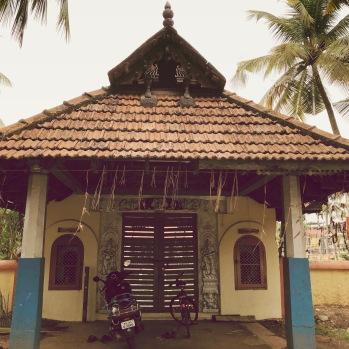 Hindu temple grounds