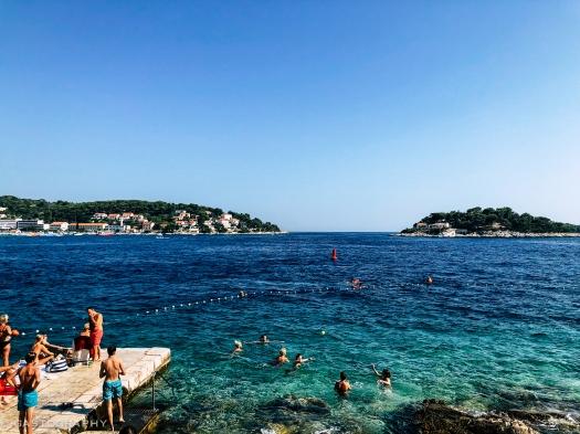 A popular swimming spot