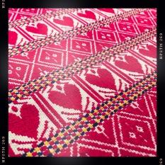 Traditional Croatian textile design