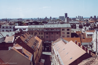 From atop the funicular